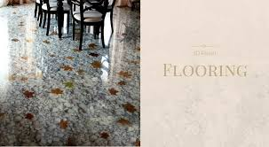 many designs can be incorporated into 3d floors we like the natural elements of this stone and leaf effect which is perfect to tie in with a stone and