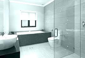 dark grey bathroom tiles tile subway wall large slate classy ideas da