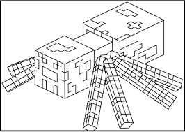 Pagine Da Colorare Con Gli Oggetti E Personaggi Da Minecraft