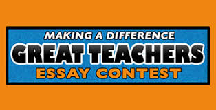 great teachers essay contest education wvia making a difference great teachers 2018 essay contest