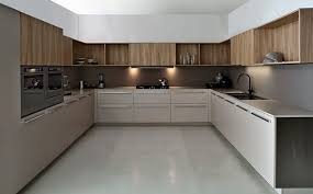 Small Picture contemporary modular kitchen neutral colors modern kitchen