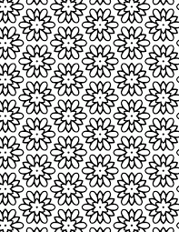 Coloring patterns as children is a great way to learn creative perseverance. Flower Pattern Coloring Pages Coloring Home