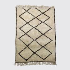 vintage beni ourain rug by superluxe