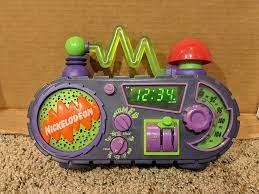 Amazon.com: Nickelodeon Time Blaster AM/FM Alarm Clock Radio : Home &  Kitchen
