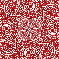 Fancy Background Design Fancy Red Background With White Line Curls Swirls Scrollwork Or