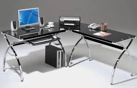 glass desks for home office. exellent desks office depot glass desks for home in for l