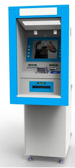 Vending Machine Money Simple Touch Screen Ticket Self Service Currency Terminal Automatic Cash