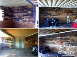 ultimate man cave diy from containers