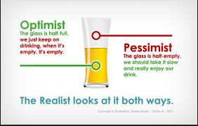 Image result for optimism versus pessimism free image