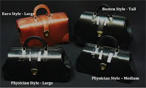 c original leather specialist line doctor bag