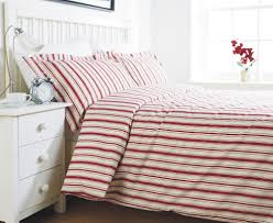 retro bedroom design with striped red duvet cover sets full size white wooden bed frame full size white wooden bed frame and white wooden bedside storage