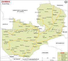 Zambia Road Map