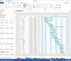 Visio 2016 Gantt Chart Gantt Software