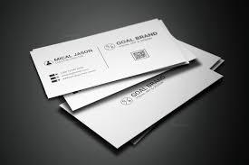 Simple Business Card Design Template Simple Creative Business Card Design Graphic Templates
