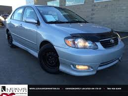 Used Silver 2007 Toyota Corolla Auto Sport Review | Medicine Hat ...