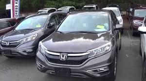 Quick Look- 2015 Honda CR V EX- Urban Titanium Metallic - YouTube