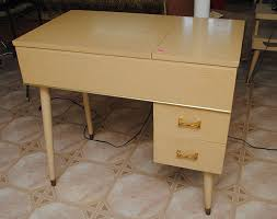 Retro Sewing Machine Table