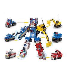 Báo giá Đồ chơi lego cho trẻ em 6 tuổi lắp ráp xếp hình Robot biến hình xe  Lele brother 8531 (1Hộp mã ngẫu nhiên) chỉ 69.000₫