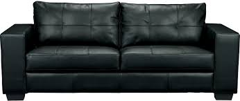 550 Costa Black Bonded Leather Sofa The Brick Design Throughout Brick Sofas  (#1 of