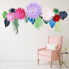 2019 handmade simulation wall flowers creative fake artificial diy half made paper flower home wedding party decoration 6 5zh6 c from sd002 1 68 dhgate
