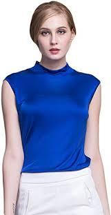 Amazon   Alexander Silk SHIRT レディース US サイズ: L/Bust:34.5 ...