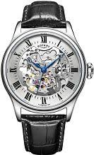 """rotary watches men s ladies rotary watch shop comâ""""¢ mens rotary vintage mecanique skeleton automatic watch gs02940 06"""