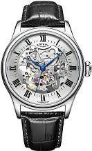 "skeleton watches men s ladies watches watch shop comâ""¢ mens rotary vintage mecanique skeleton automatic watch gs02940 06"