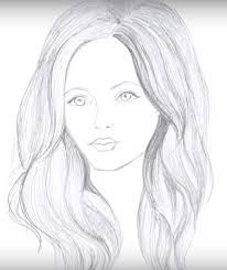 เราวาดทรงผมผหญง วธการวาดผม บทเรยนการวาดภาพเหมอน