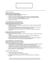 Investment Banking Resume Review Free Resume Example And Writing