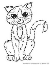 Small Picture Fluffy Cat Coloring Sheet PrintableCatPrintable Coloring Pages