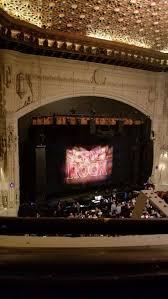 Hamilton Orpheum Seating Chart Orpheum Theatre San Francisco Section Balcony L Row A
