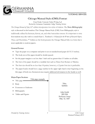 Chicago Manual Style Cms Format