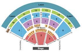 Pnc Music Pavilion Seating Chart Charlotte