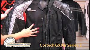cortech gx air series 2 jacket review by bikebandit com
