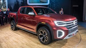 VW pickup is real: Atlas picks up a truck bed and the name Tanoak