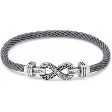 infinity bracelet. color clique cord infinity bracelet set d