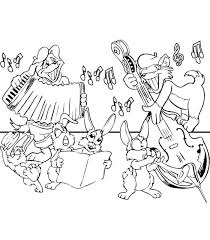 Kids N Funcom Coloring Page Musical Instruments Musical Instruments