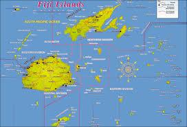 large detailed fiji islands map fiji islands large detailed map