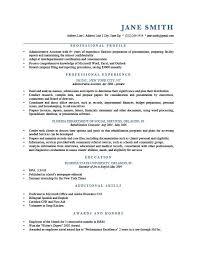 Resume Profile Examples Brave100818 Com