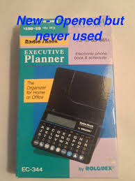 Vintage Radio Shack 65 861 Executive Planner By Rolodex Ec
