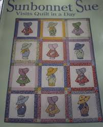 175 best Sunbonnet Sue - Quilt & Embroidery Patterns images on ... & Sunbonnet Sue Quilt Designs | Sunbonnet Sue Visits Quilt in A Day Pattern  Book Burns | Adamdwight.com