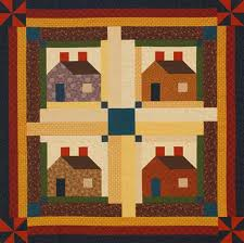 Log Cabin Quilt Patterns Delectable Log Cabin Quilt Patterns AllPeopleQuilt