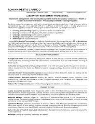 Lab Manager Resume Resume Peppapp