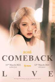Blackpink Rose On The Ground D-Day Posters (HQ) - K-Pop Database /  dbkpop.com