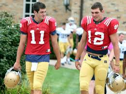 Ex-Notre Dame football QB Andrew Hendrix now a med student amid ...