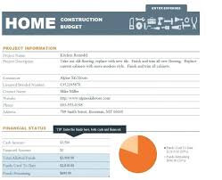 decoration: Home Renovation Budget Excel Spreadsheet Template. Home ...