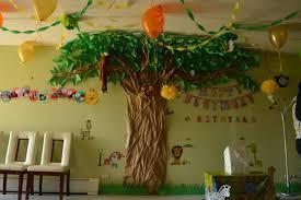 Jungle Decoration Jungle Theme Birthday Decoration Ideas Passionate Moms