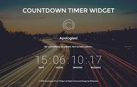Countdown Timer Widget A Flat Responsive Widget Template