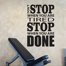 Small Picture Aliexpresscom Buy Home Gym Design Wall Sticker Quotes Dont