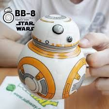 <b>Creative Star Wars Cups</b> 420ml BB 8 Robot Porcelain Mugs ...
